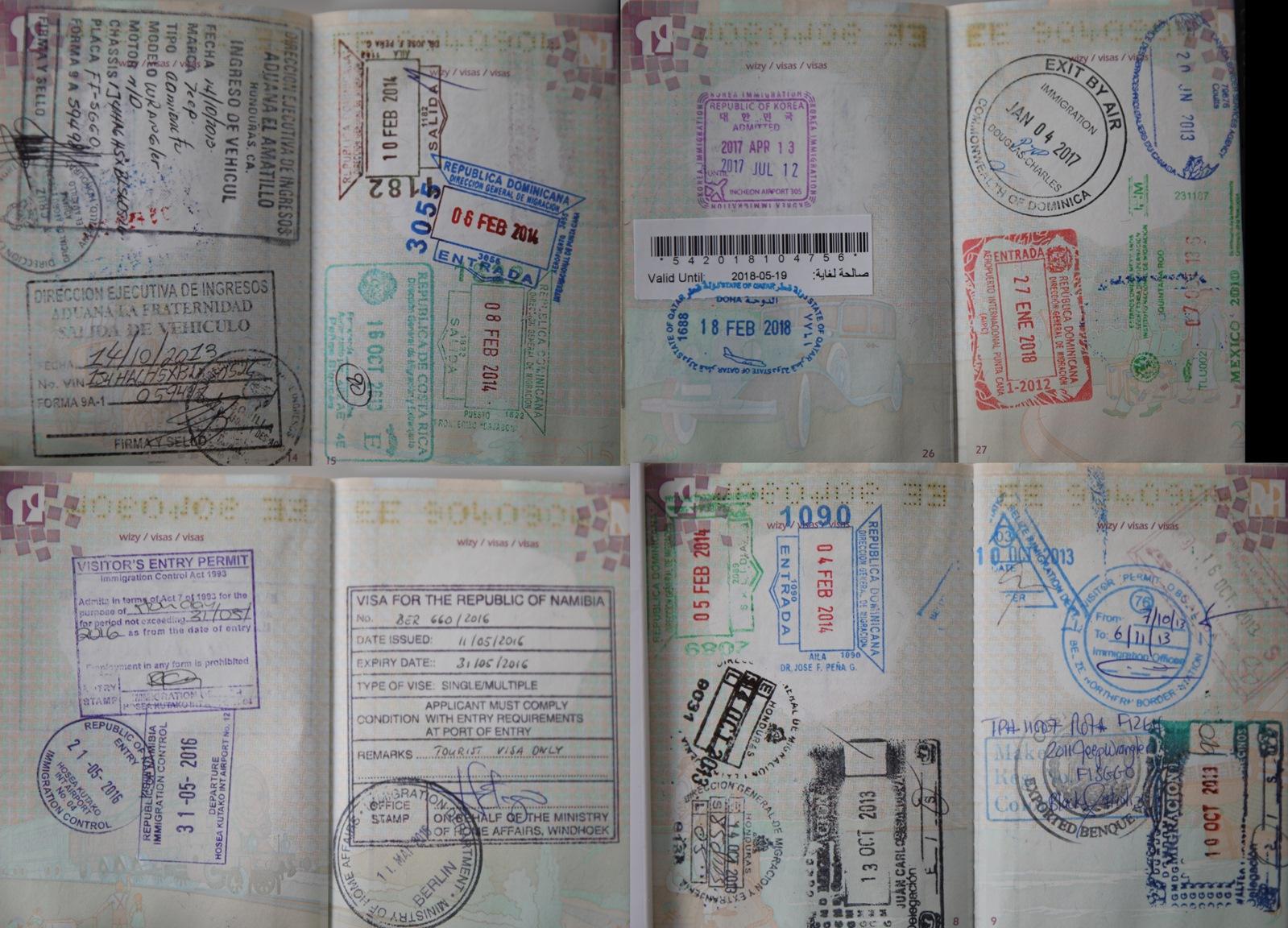 Kolejny, trzeci już paszport który podlega wymianie.